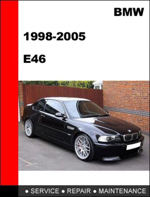 2001 bmw e46 workshop manual