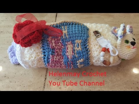 instructions for crochet twiddle muff