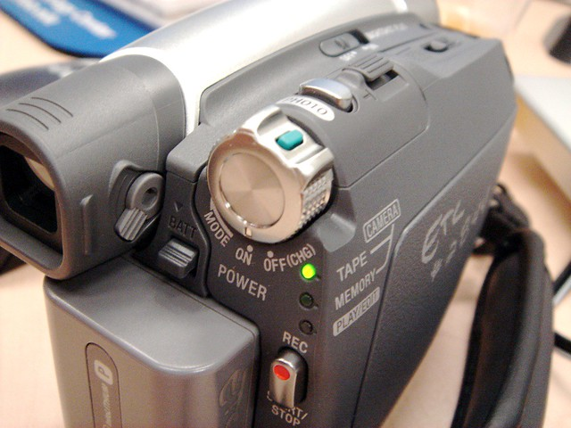 sony cam recorder dcr-hc46 manual