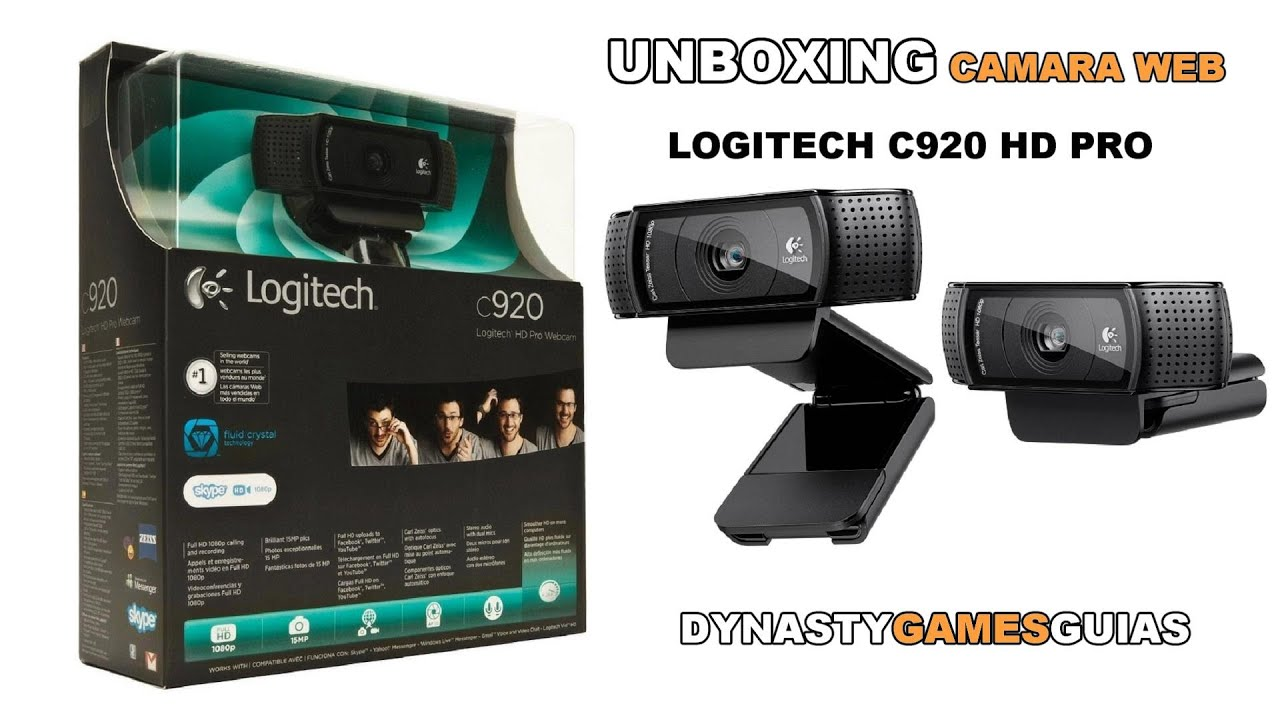 Logitech hd pro webcam c920 manual