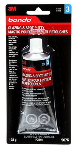 bondo professional glazing and spot putty instructions