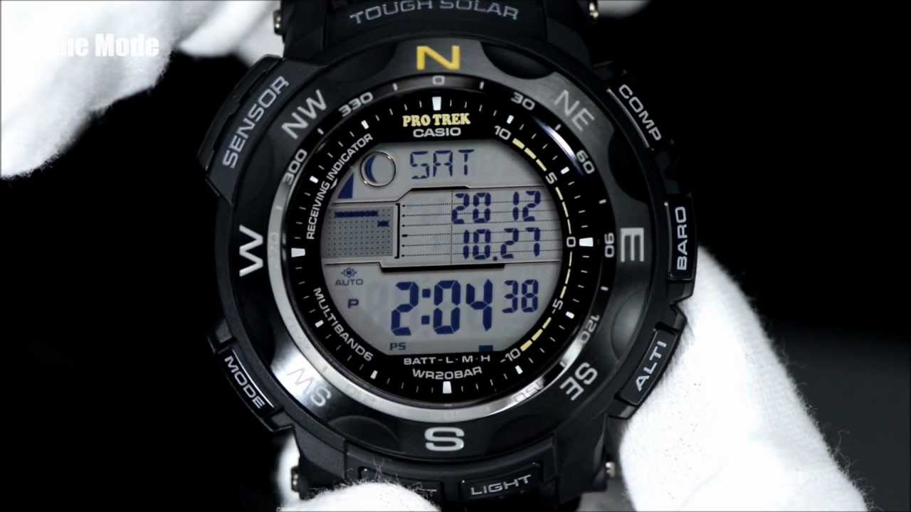 Casio protrek watch instructions