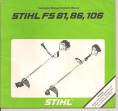 stihl fs 86 trimmer manual