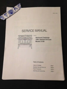 Vermont castings defiant 1975 manual