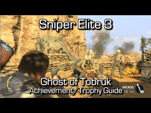 Sniper elite 3 scope guide