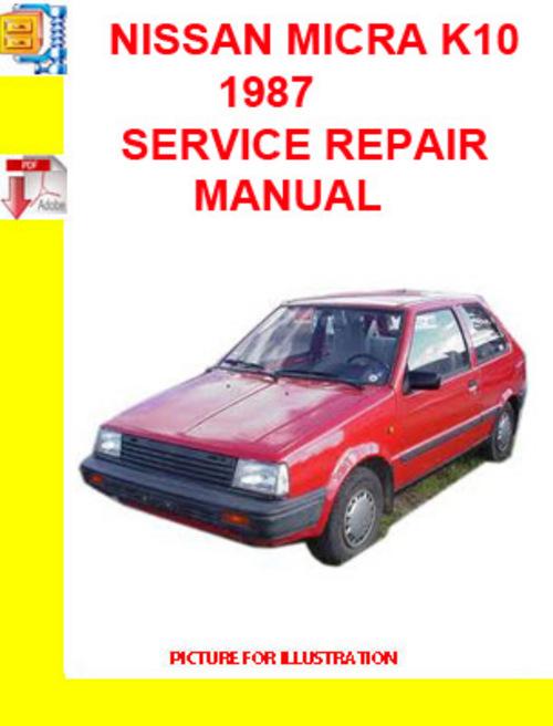Haynes manual nissan micra k11 pdf