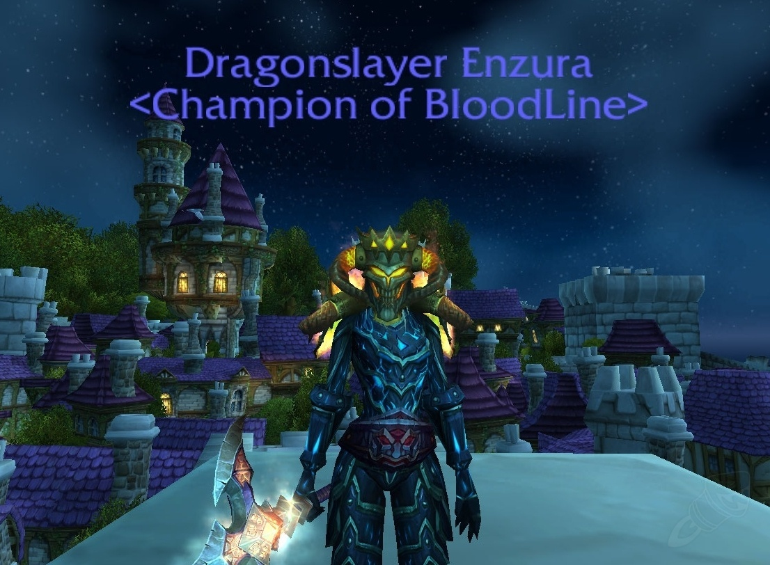 World of warcraft legion how to get the dragon slayer