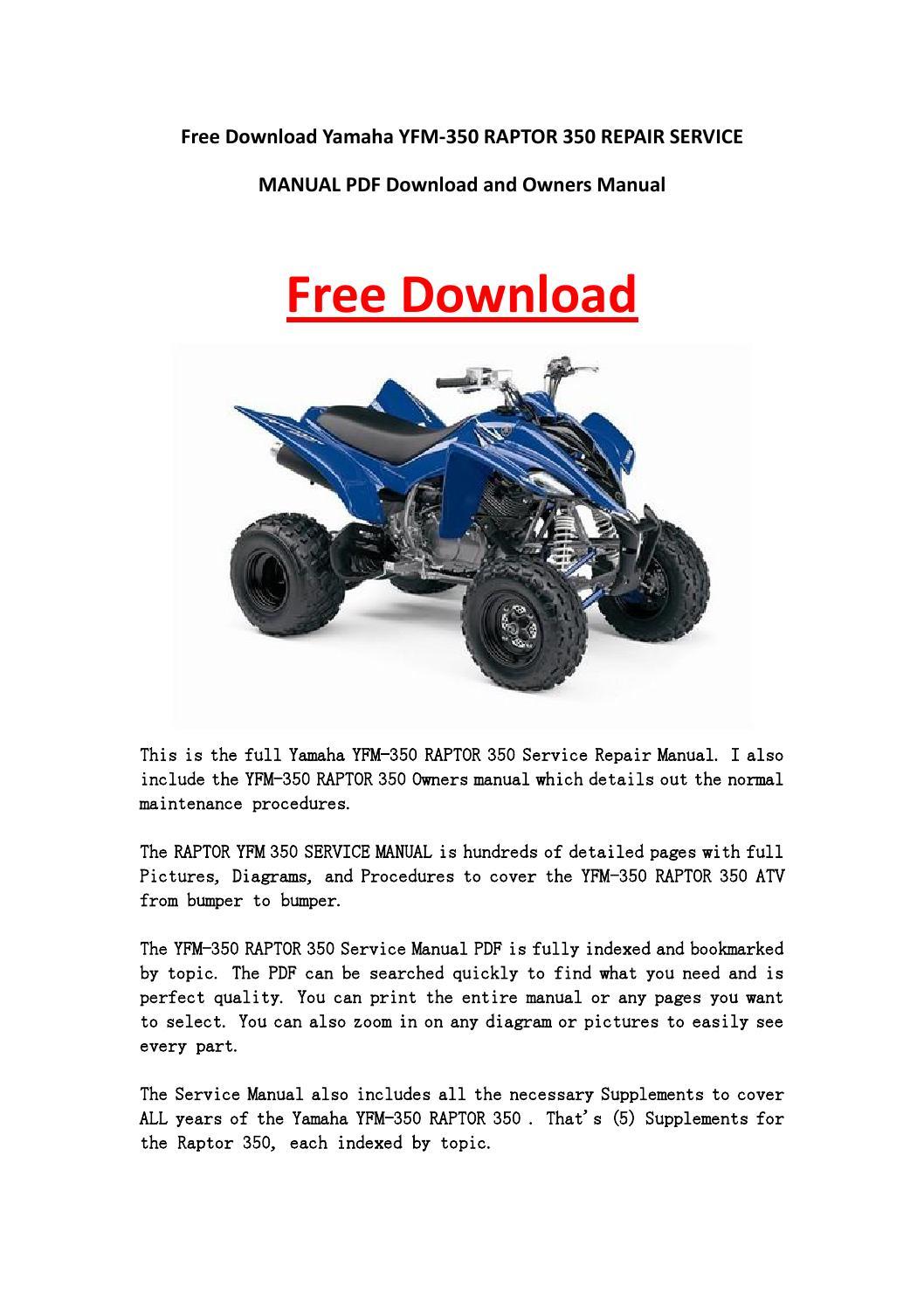 free atv repair manuals pdf