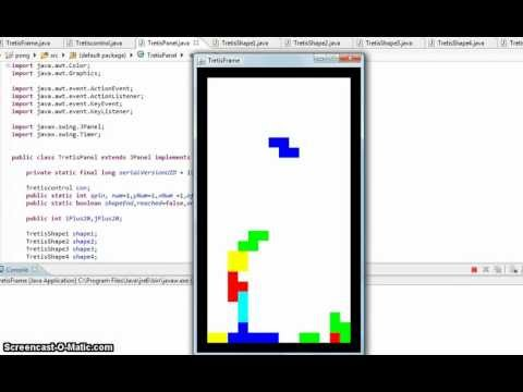 Tetris java source code pdf