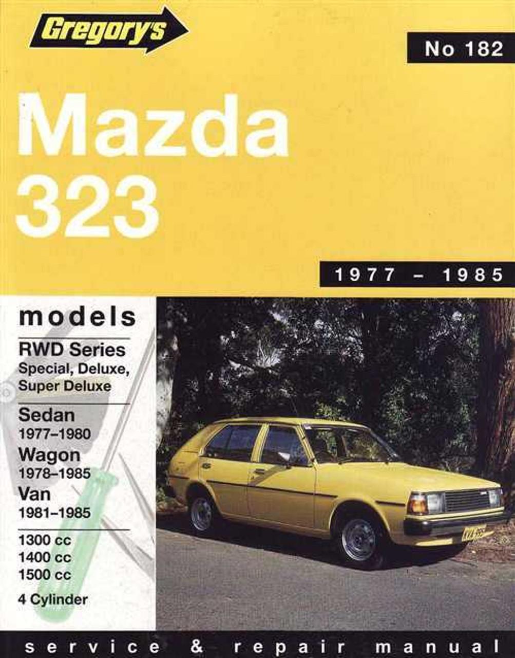 2002 mazda 323 service manual