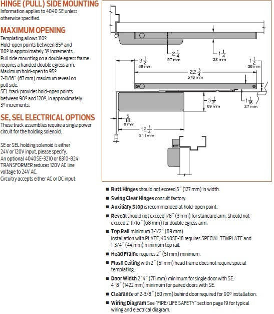 lcn 4040 door closer installation instructions