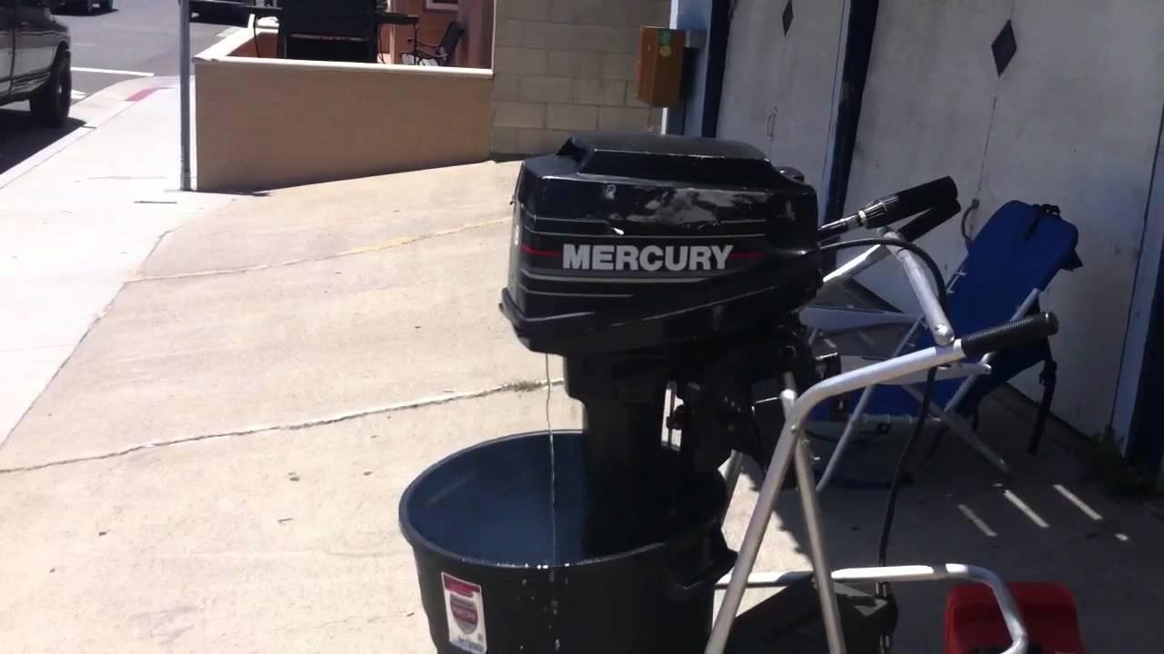 Mercury 8hp 2 stroke manual