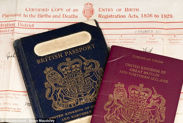 What is former surname on passport application