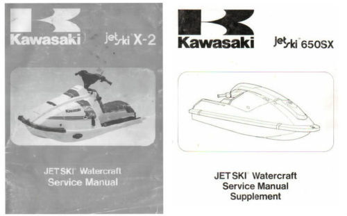Kawasaki 650 jet ski manual