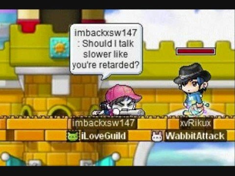 Maplestory how to make vac hack