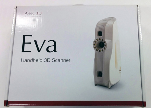 artec eva 3d scanner manual