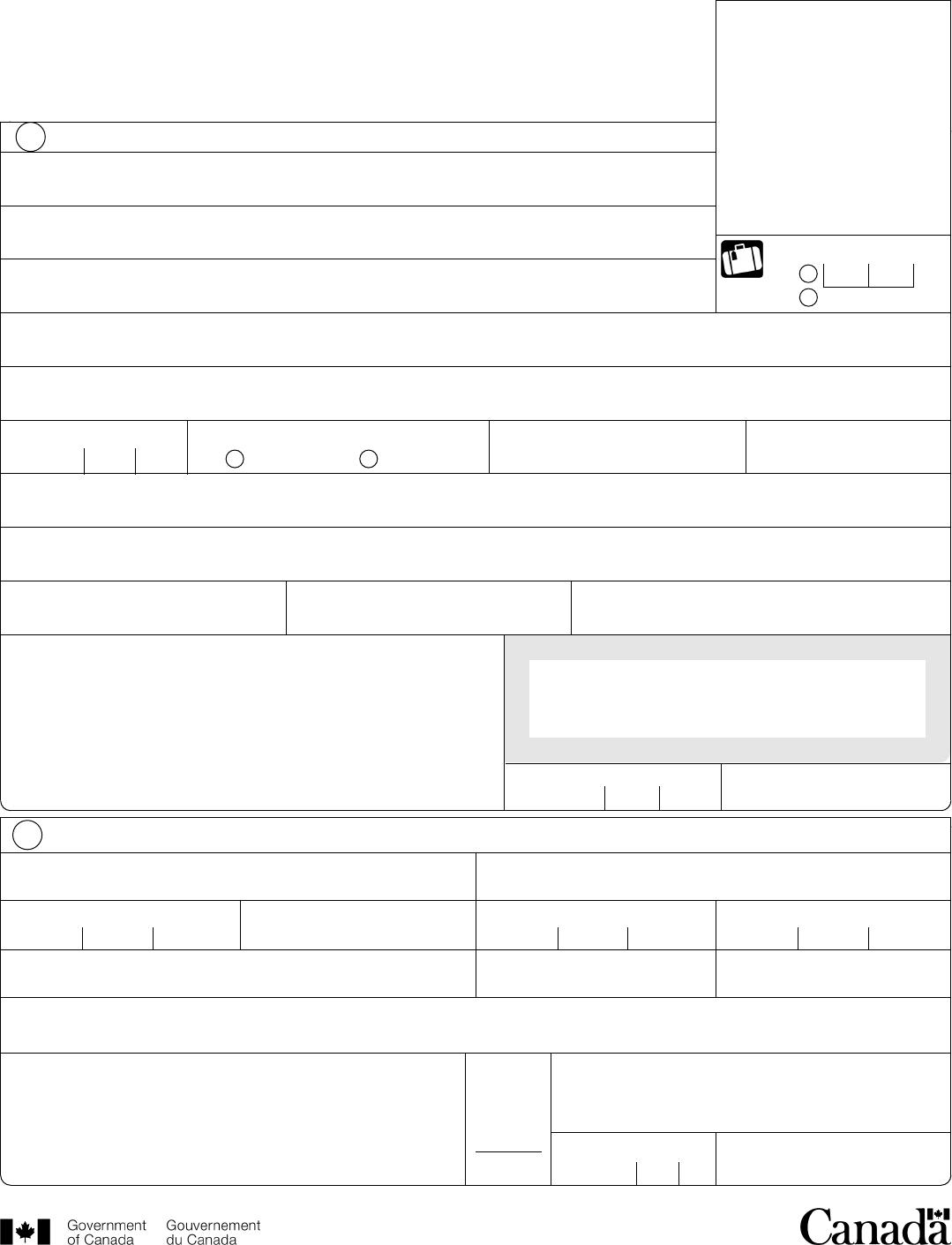 Form pptc 153 adult general passport application