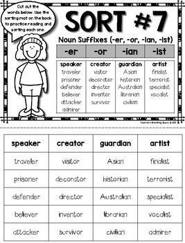 Words their way word sorts for derivational relations spellers pdf