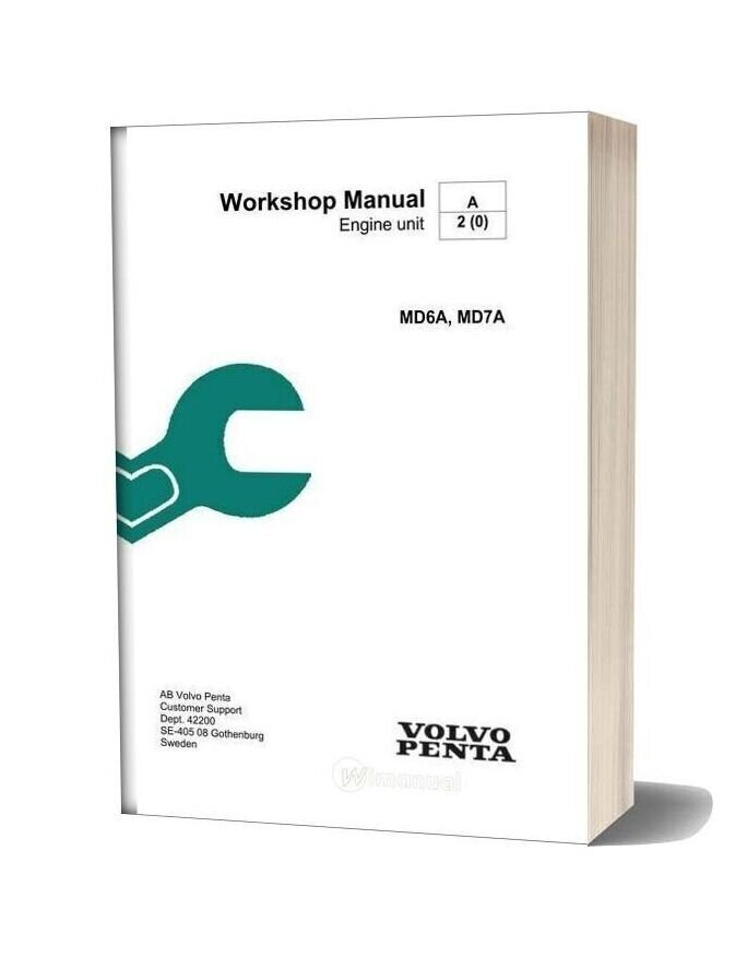 volvo penta 122d workshop manual