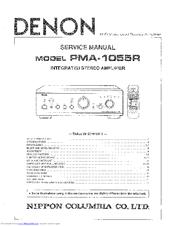 Denon pma 700v service manual