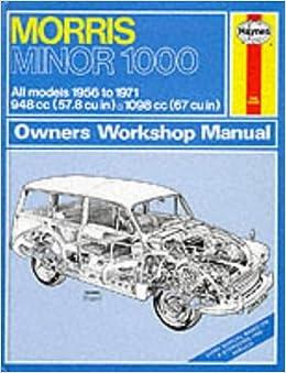 morris minor 1000 workshop manual pdf