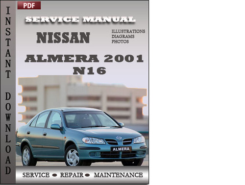 nissan almera n16 workshop manual