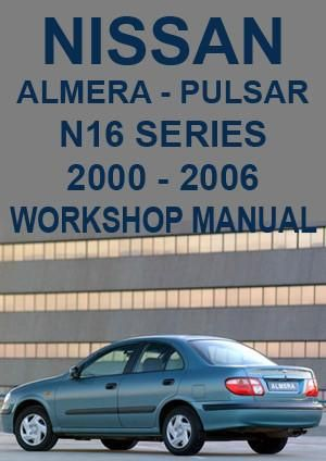 nissan pulsar n16 manual pdf