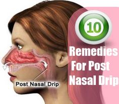 Posr nasal drip how to get rid of