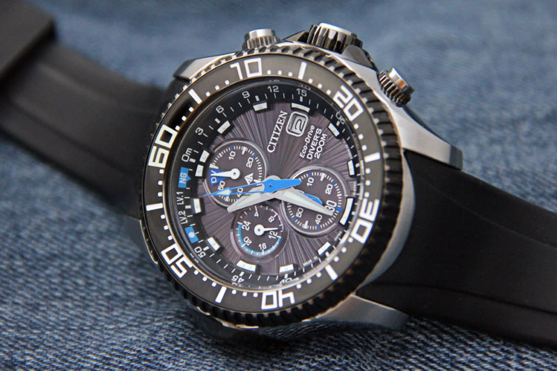 citizen promaster aqualand eco-drive bj2110-01e manual