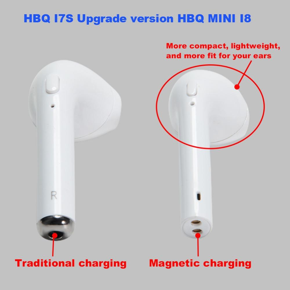 I7s tws how to know when its charging