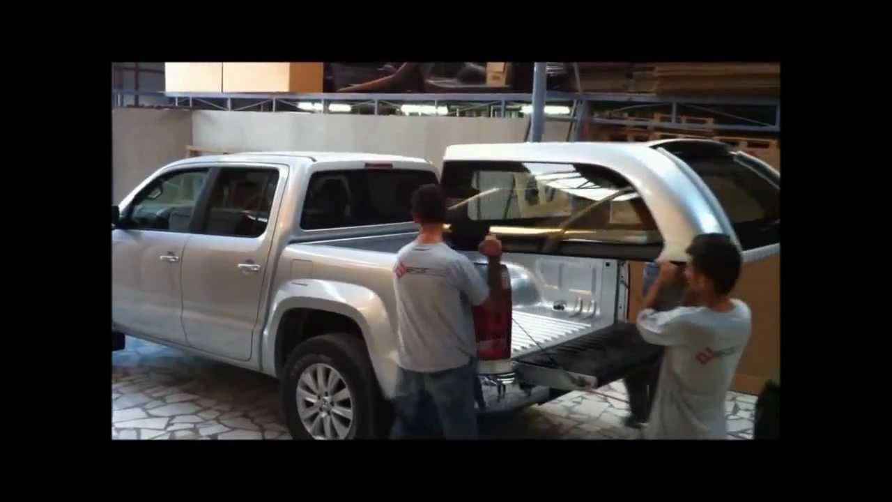 hilux arb canopy fitting instructions