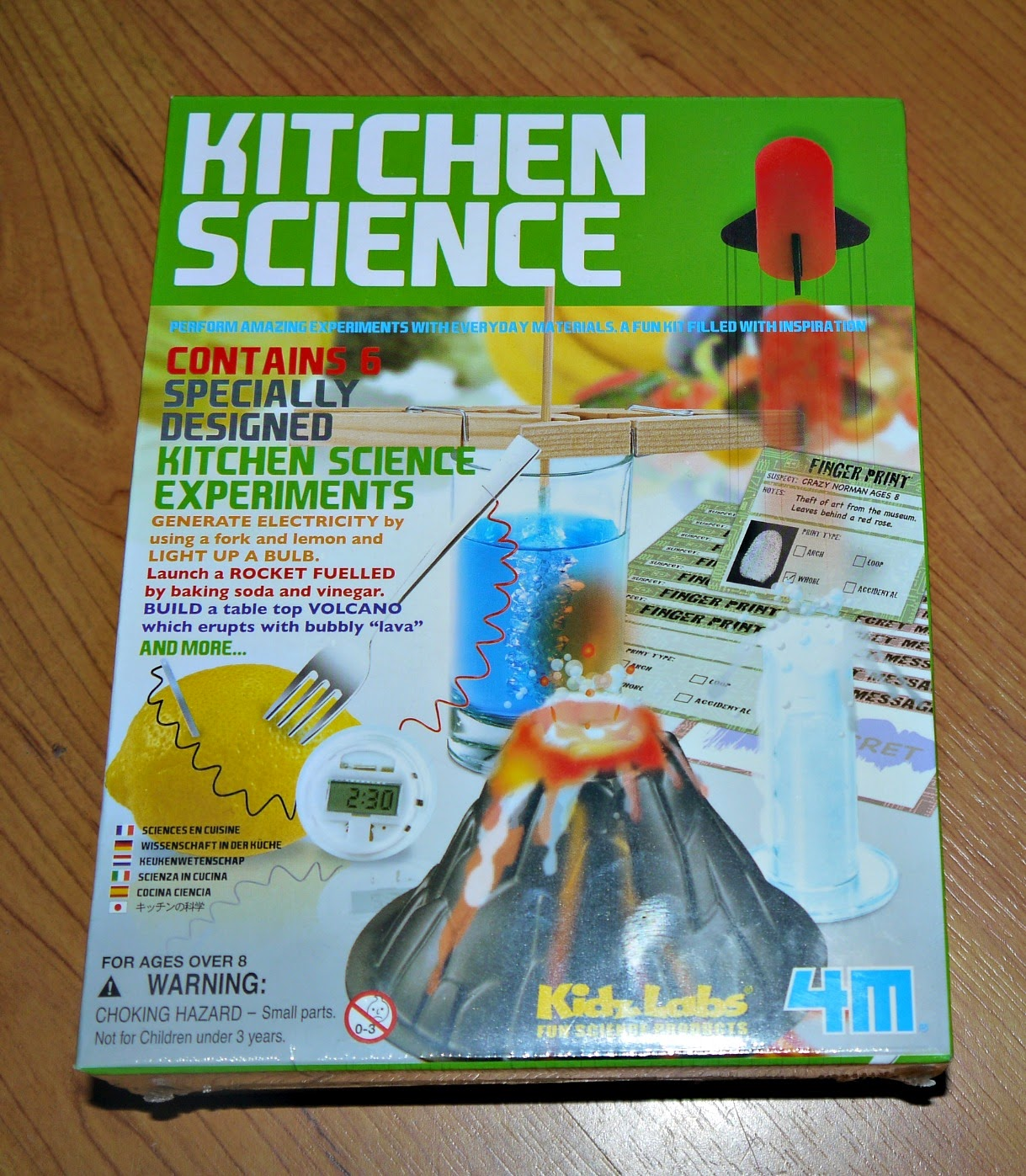 4m kitchen science kit instructions