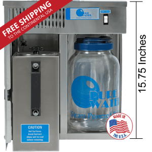 pure water mini classic ct water distiller user manual