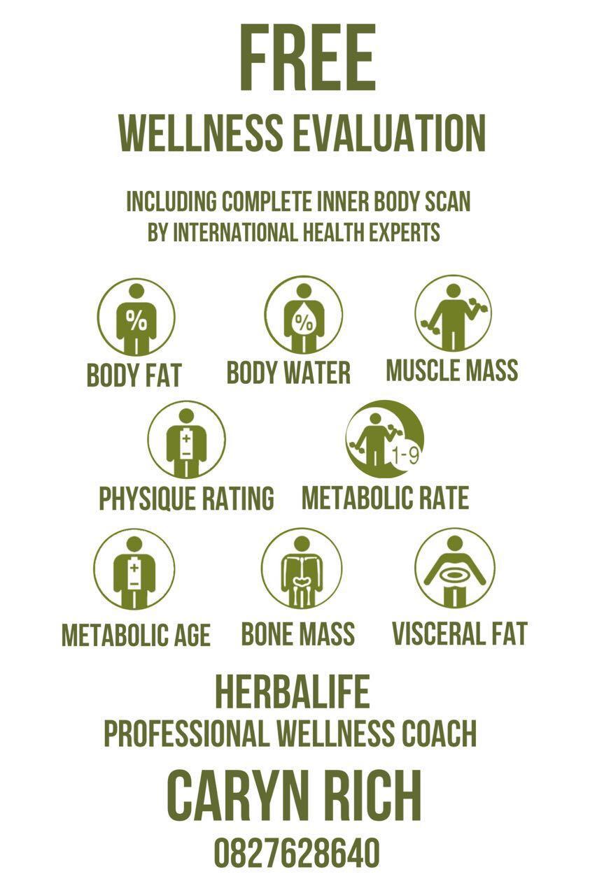 Herbalife wellness evaluation form pdf