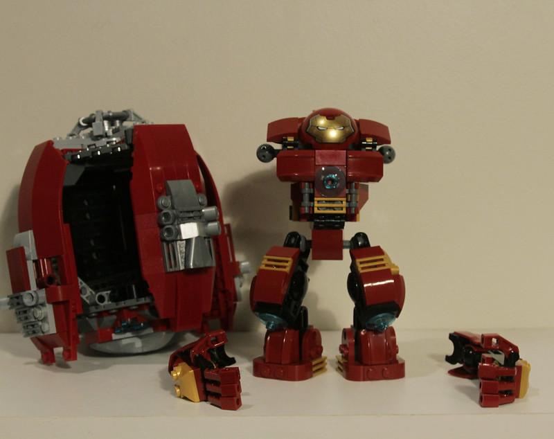 lego hulkbuster set instructions