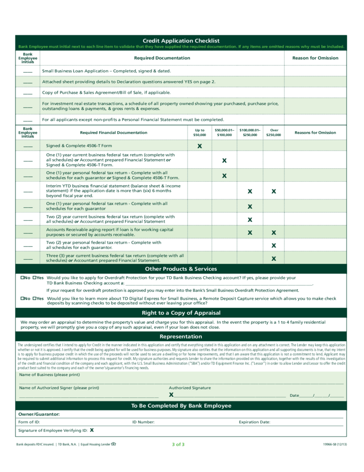 Boi home loan application form
