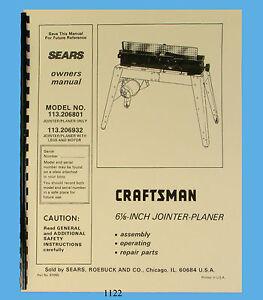 sears craftsman model 944 manual