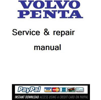 Volvo penta 2030 technical manual