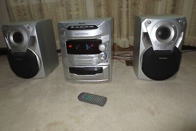 manual panasonic cd stereo system sa-ak18