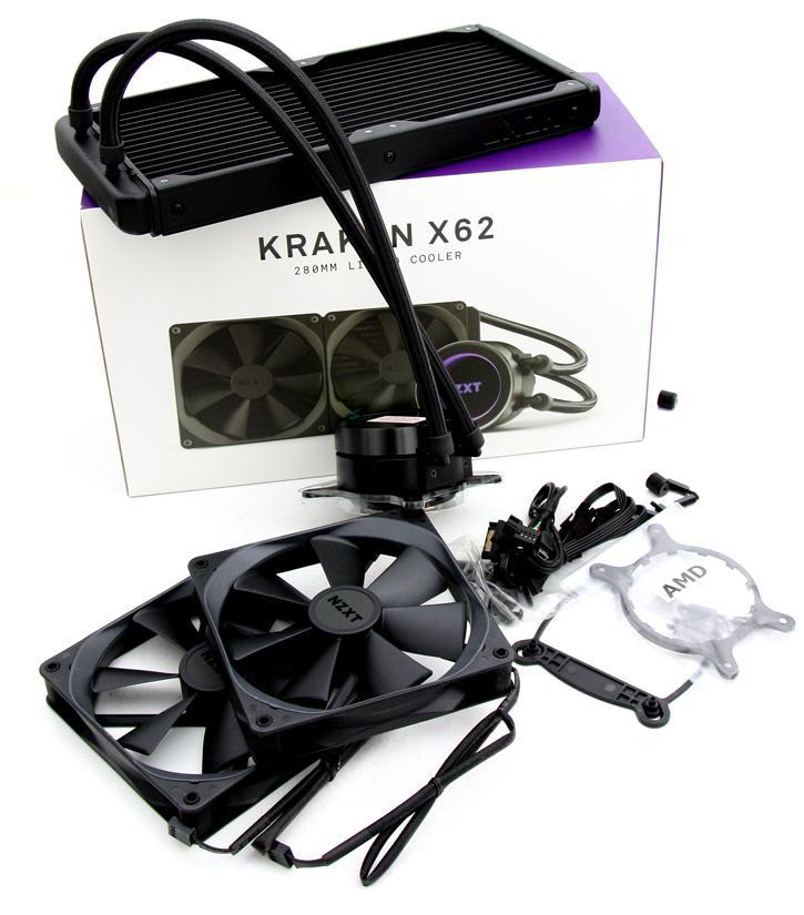 Nzxt kraken x62 installation guide