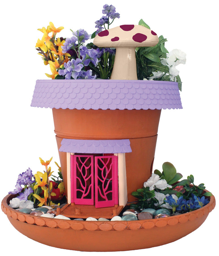 My fairy garden magical cottage instructions