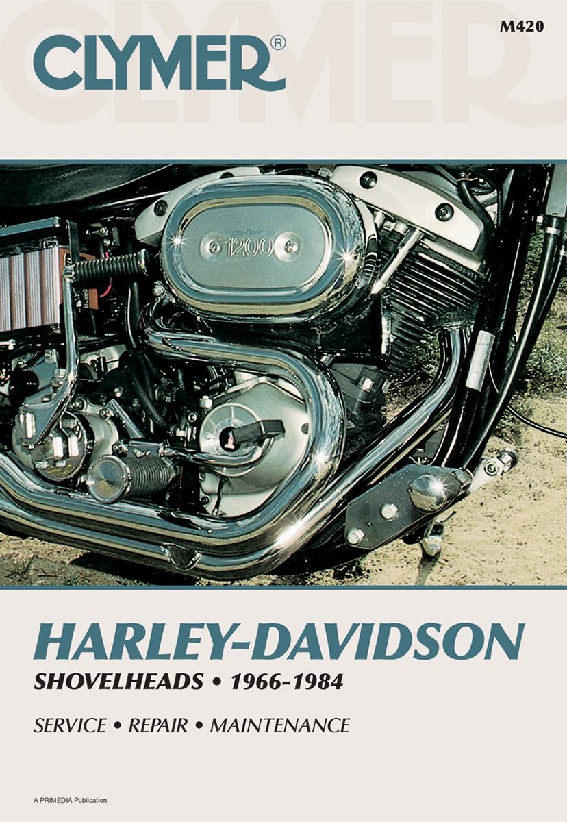 Harley davidson shovelhead service manual