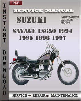 2006 suzuki ls650 owners manual