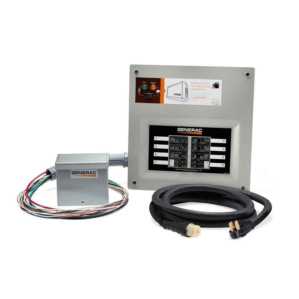 20 amp manual transfer switch