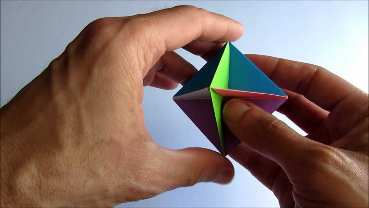 modular origami instructions easy