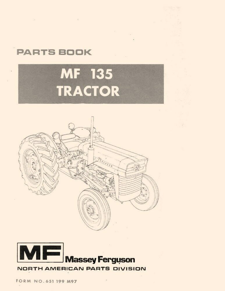 Massey ferguson 65 parts manual