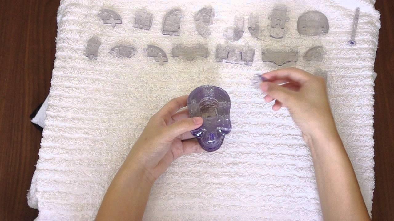original 3d crystal skull puzzle instructions