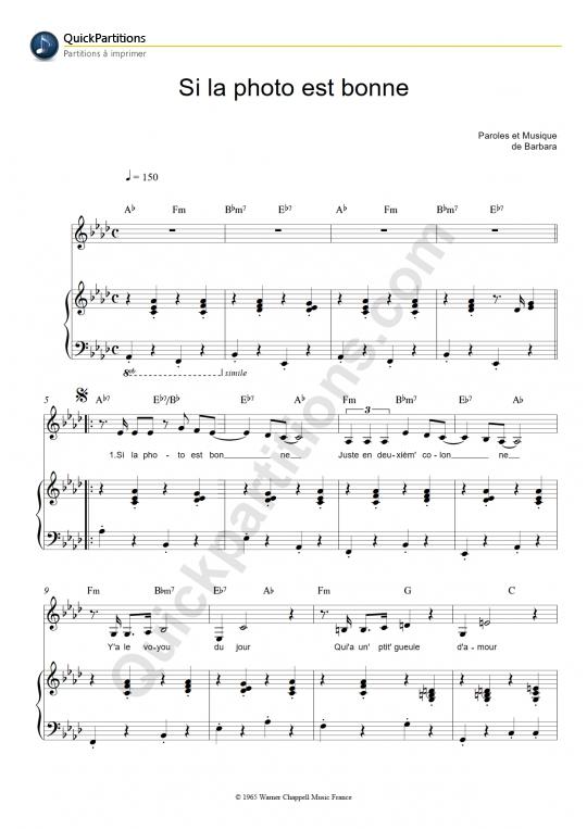 Quand la musique est bonne paroles pdf