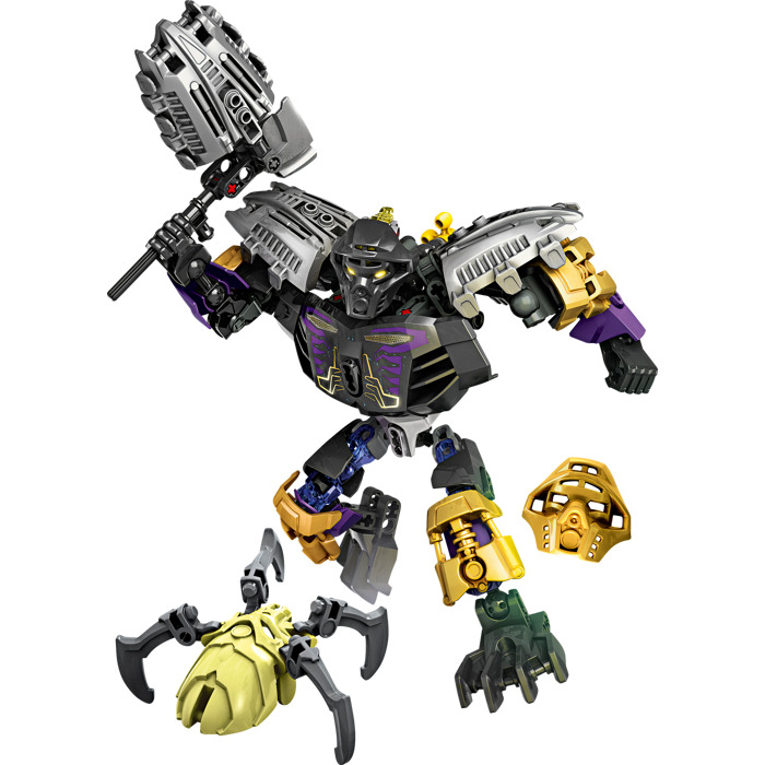 lego bionicle master of earth instructions