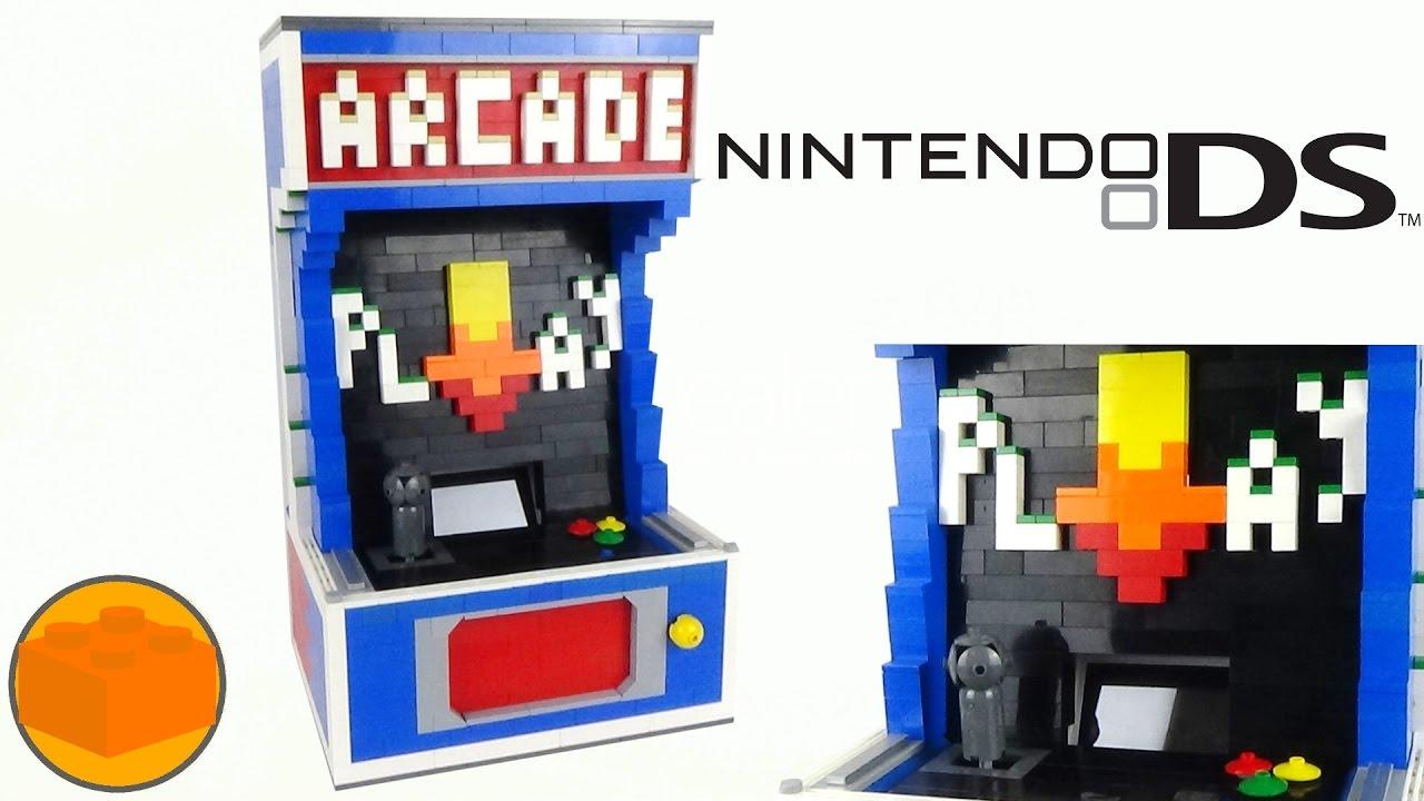 lego arcade machine instructions